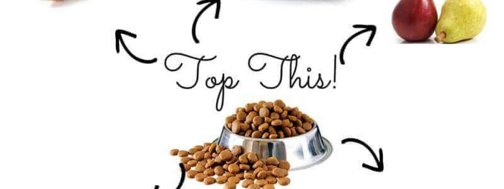 dog food toppers